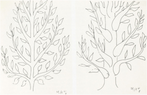 Matisse study of Trees