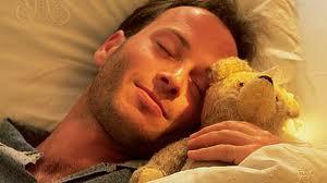 guy w teddy bear