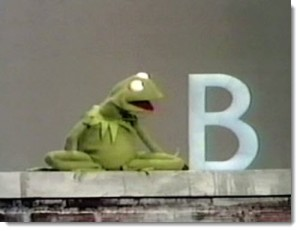 kermit-letter-b